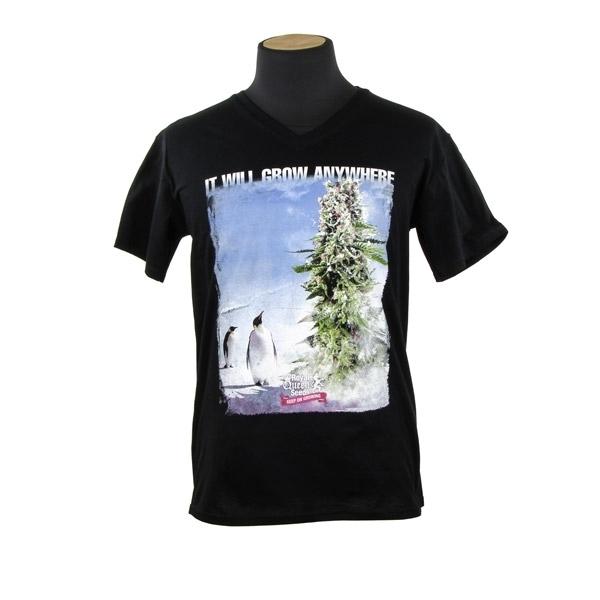 Camiseta Royal Queen Seeds T-shirt Pingüinos
