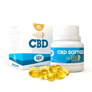 Cápsulas de aceite de CBD 4%
