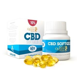 Cápsulas de aceite de CBD 10%