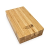 Bandeja de liar magnética de bambú RQS