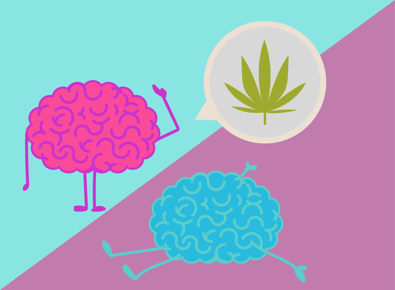 hombre de cannabis mujer reacciones THC bioquímica efectos estrógenos testosterona