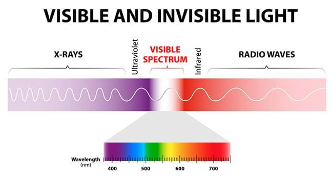 espectro de luz marihuana