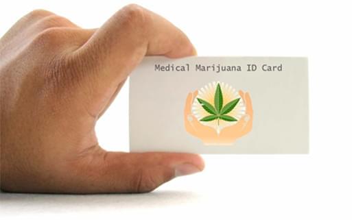 Tarjeta de identificación de marihuana medicinal
