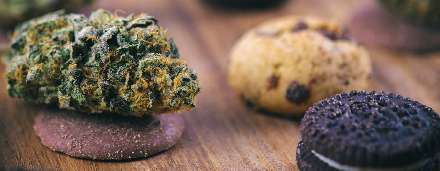 Galletas caseras de cannabis