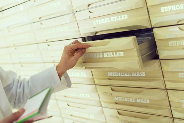 Italia farmacéutica medicina salud de su médico FM2 Bedrocan