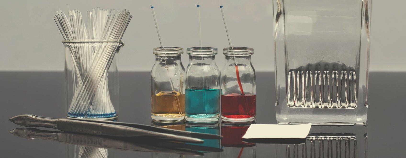 Kits de pruebas de cromatografía en capa fina (CCF)