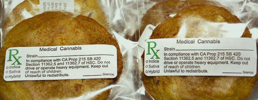 Galletas de cannabis reguladas
