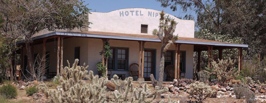 Nipton Hotel California canna tourismo