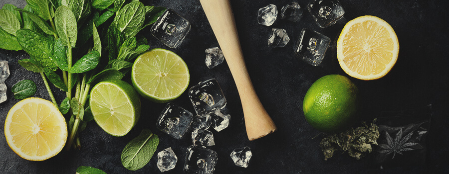 Mojito Y Cannabis Ingredientes