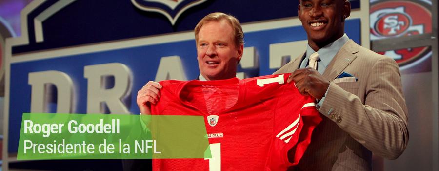 Roger Goodell presidente NFL