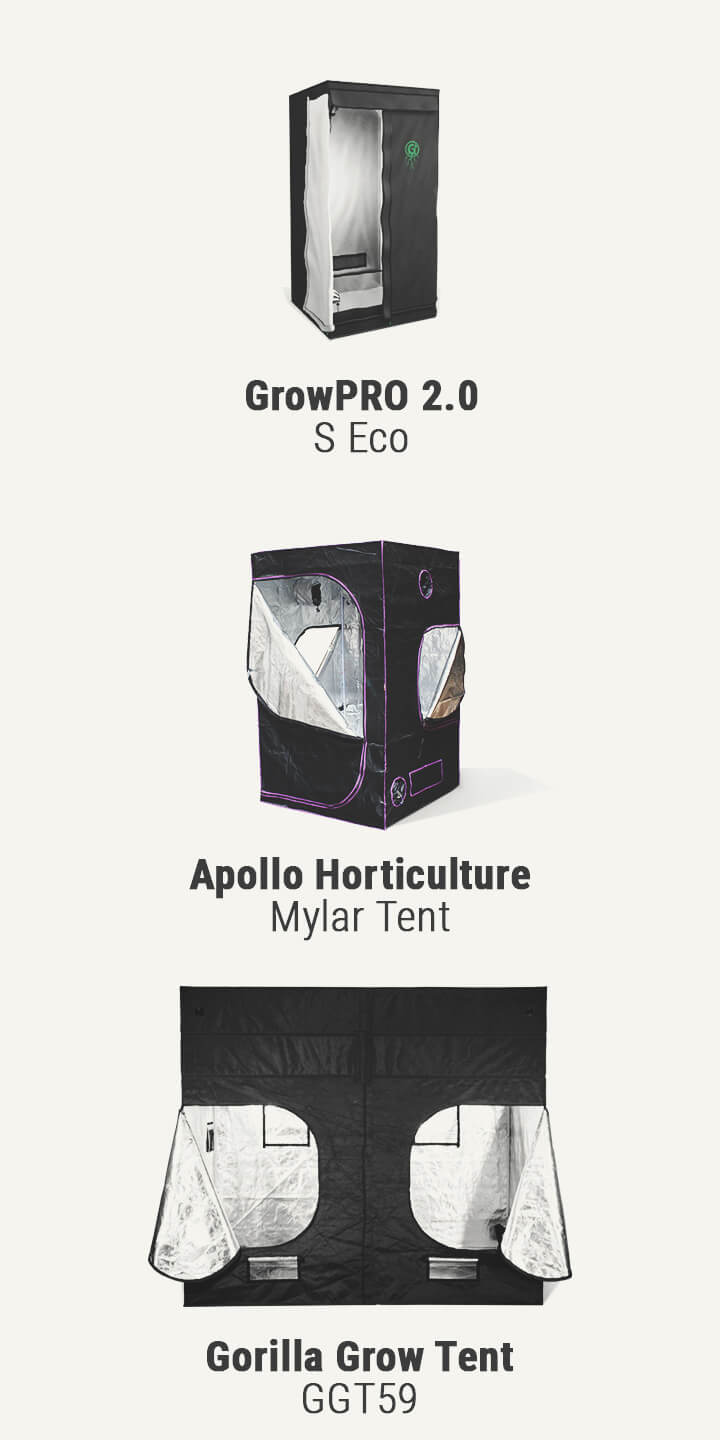 Types of Growing Tents