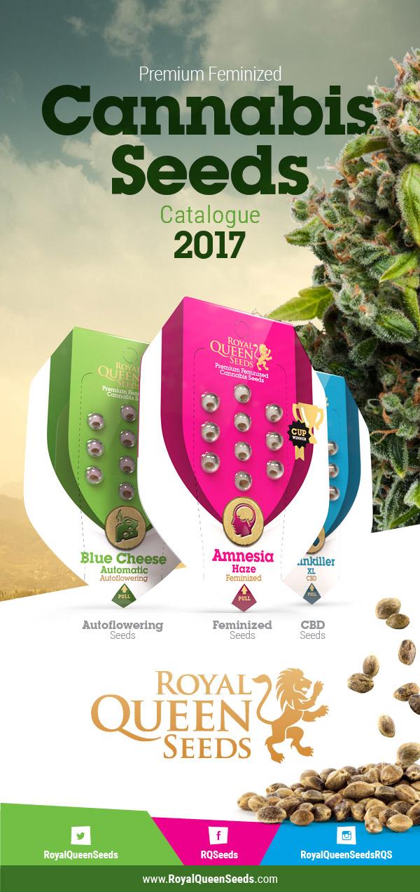 catálogo de semillas de cannabis