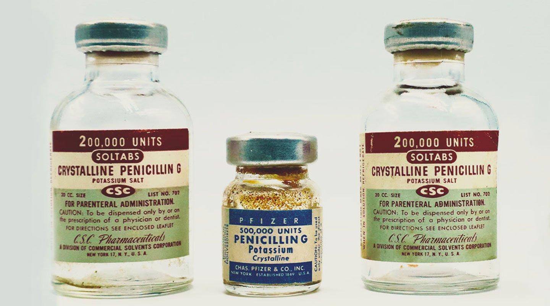 Breve historia de los antibióticos