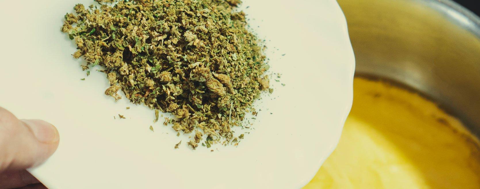 Añade Cannabis a la Mantequilla ya Derretida
