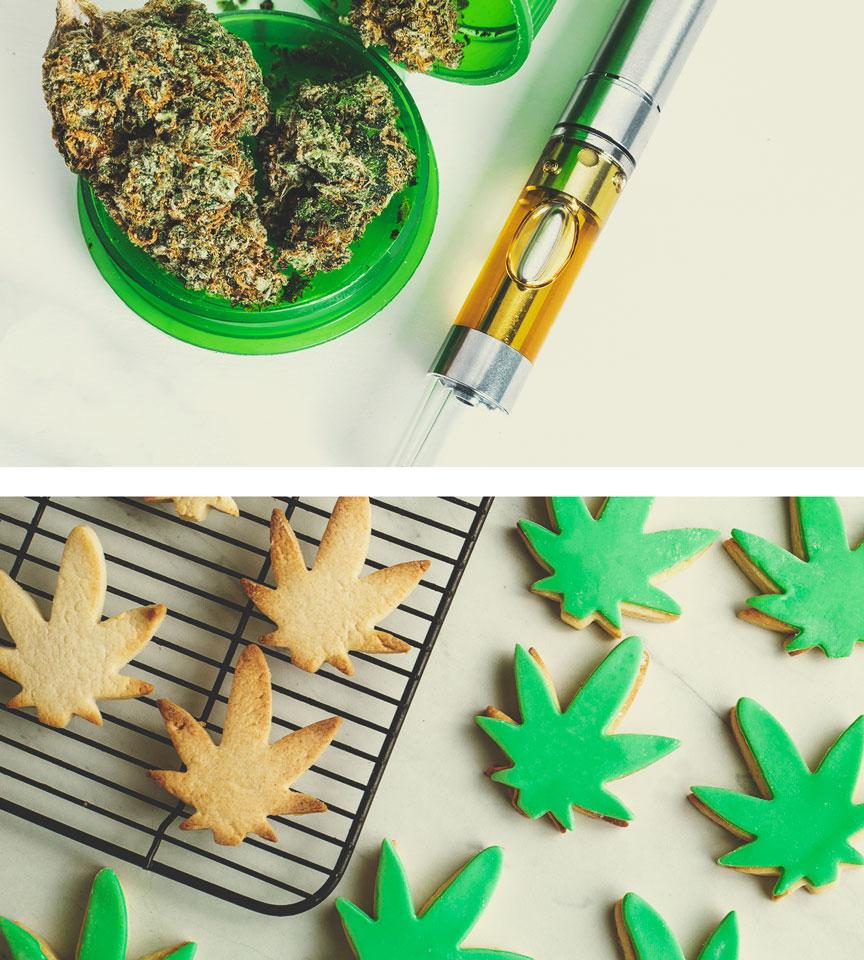 ¿Cuáles son las alternativas a fumar marihuana?