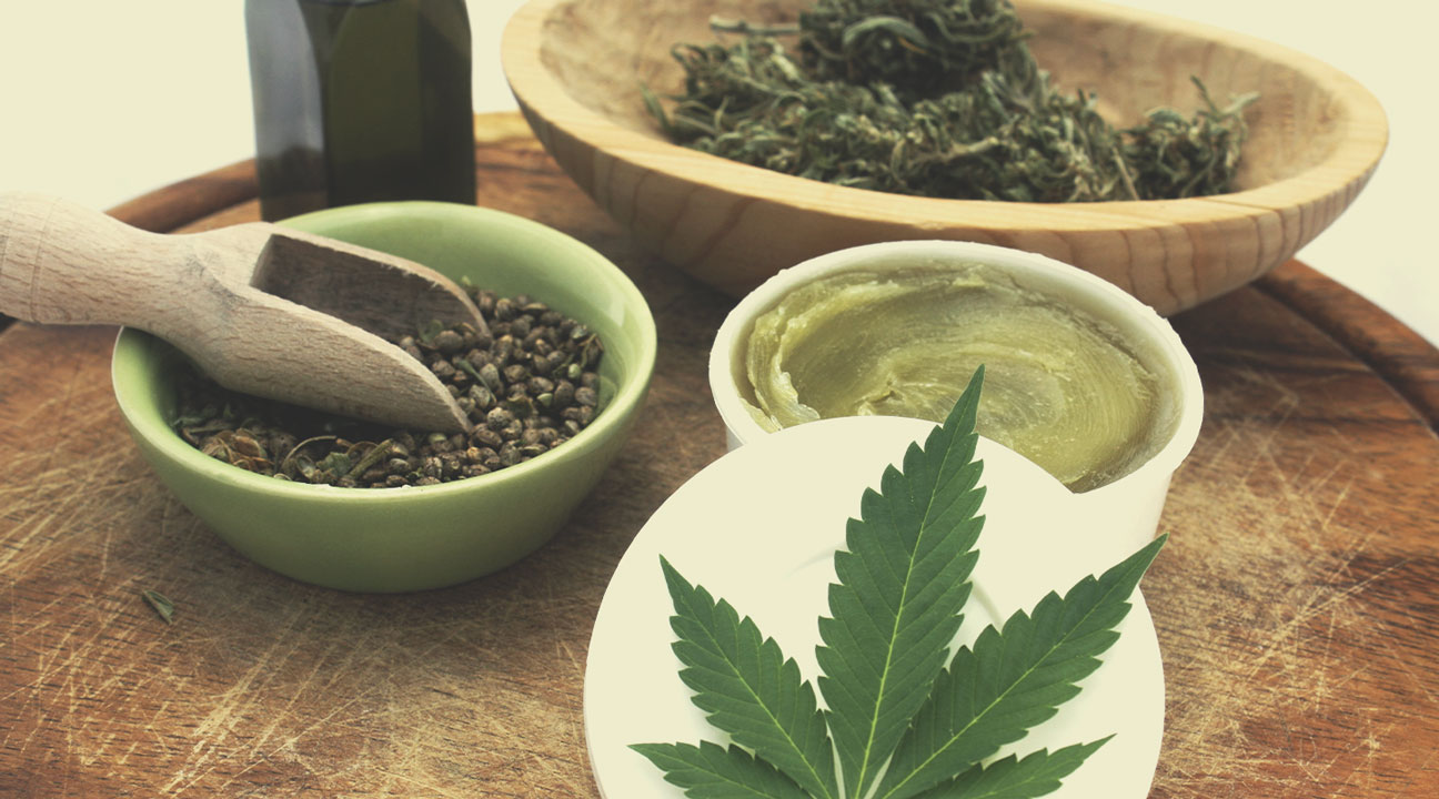 Cómo hacer pomada de marihuana natural