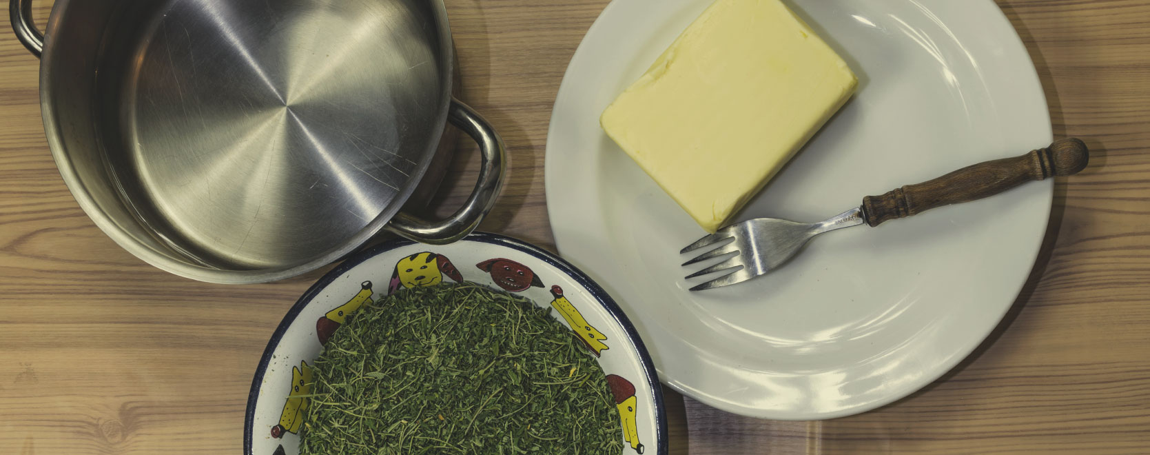 Ingredientes Para hacer Mantequilla de Cannabis