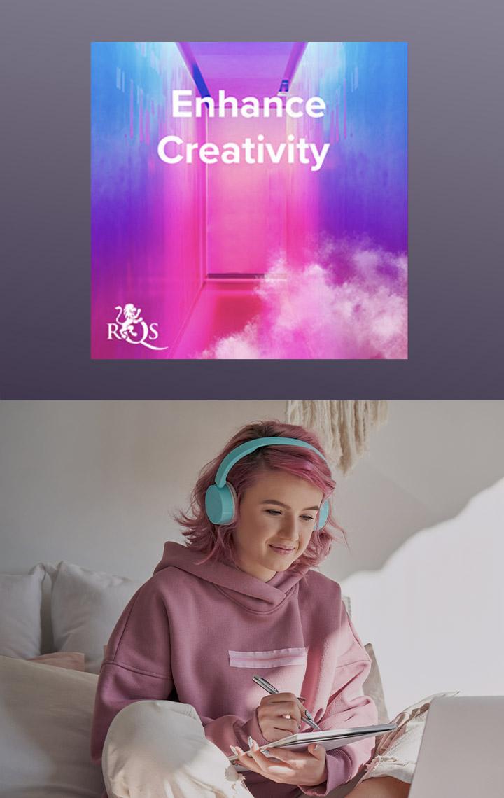 Aumentar la creatividad/estimular la mente