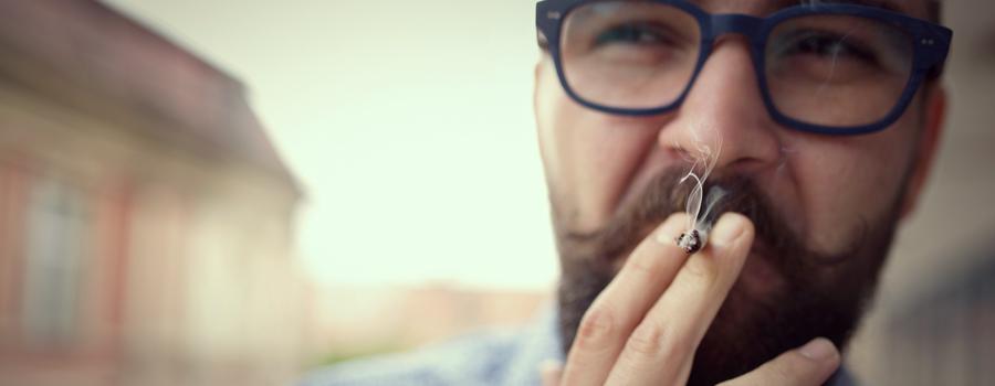 Posición de cannabis milenials