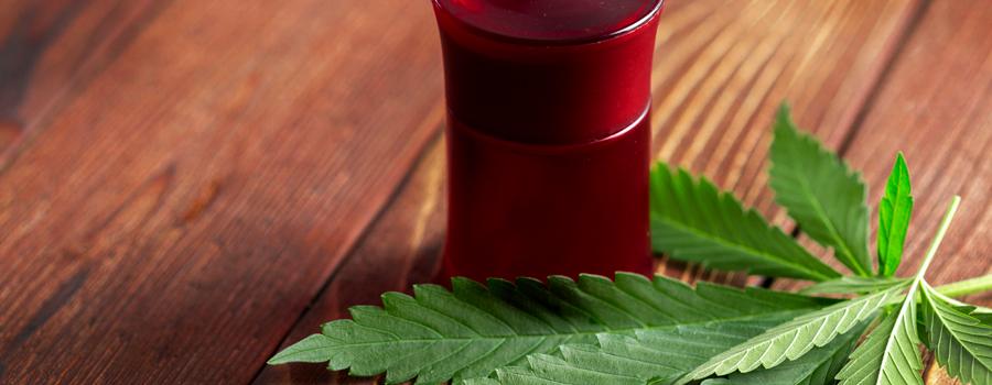 Lubricante de crema de aceite de cannabis