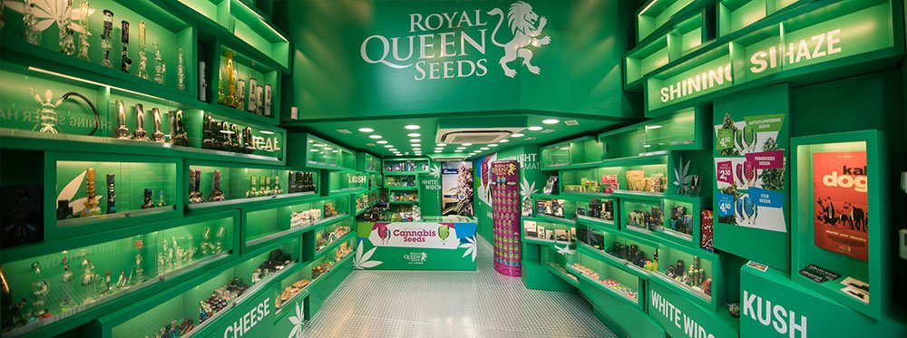 Royal Queen Seeds Barcelona Shop