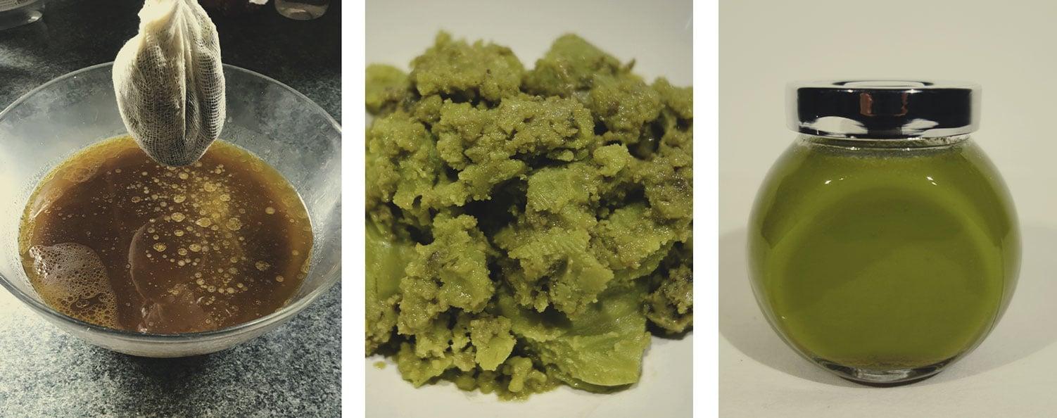 Cuela la Mezcla de Cannabis y Mantequilla