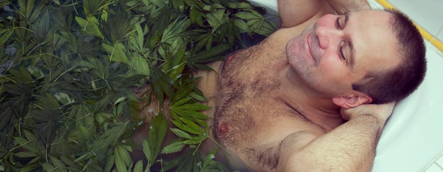 Sueño de cannabis alto descanso