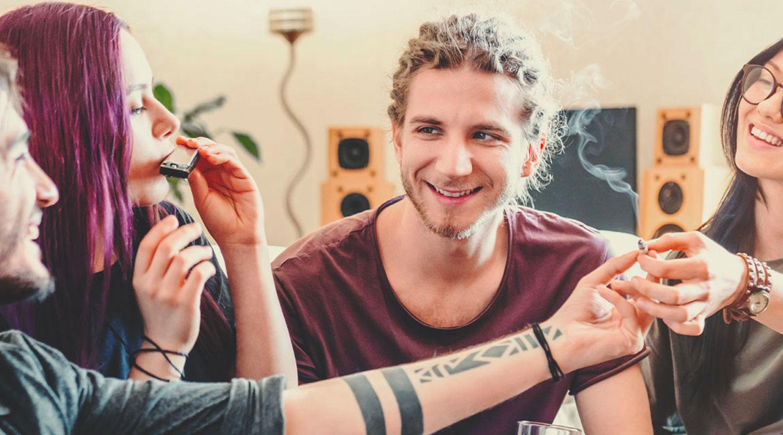 ¿Qué causa dependencia del cannabis?