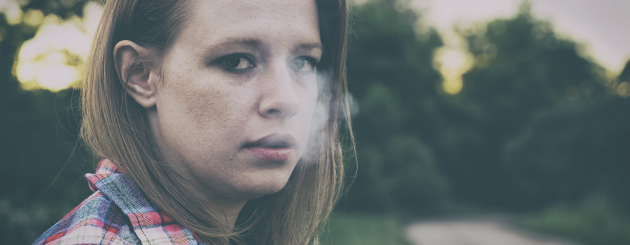 Educación adolescente de fumar