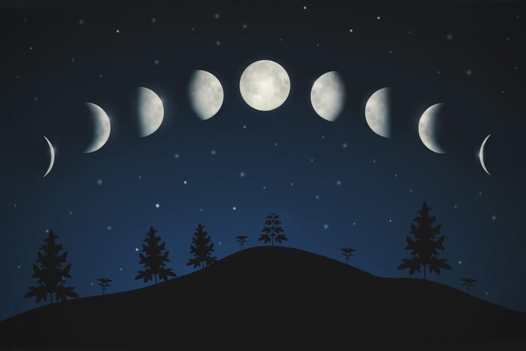 Calendario Lunar Cannabico 2019 Espana.Como Afecta La Luna La Marihuana Rqs Blog